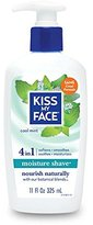 Kiss My Face Moisture Shave 11oz Cool Mint Obsess/Natural