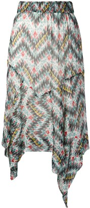 Etoile Isabel Marant Asymmetric Skirt