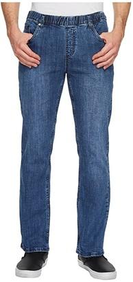 NBZ(r) Elastic Waist Straight Leg Jean in Imperial Blue