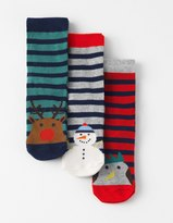 Boden 3 Pack Novelty Socks