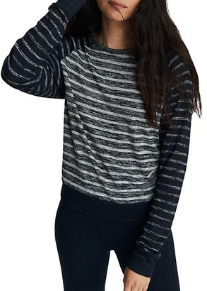 Rag & Bone The Knit Striped Pullover Top