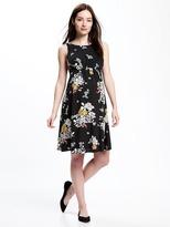 Old Navy Maternity Floral-Print Shift Dress