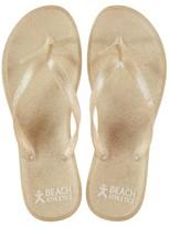 Beach Athletics Glitter Flip Flops
