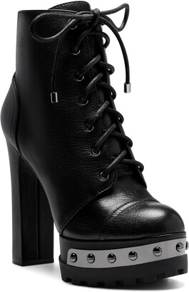 Jessica Simpson Irella Platform Combat Boot