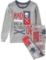 Joe Fresh Toddler Boys' Long Sleeve Sleep Set, Light Grey Mix (Size 4)