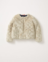 Boden Faux Fur Coat