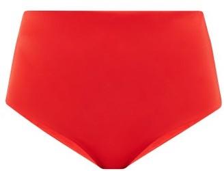 Mara Hoffman Lydia High-rise Bikini Briefs - Red