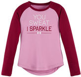 Under Armour Girls 2-6x You Sweat I Sparkle Tee
