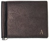 Cathy's Concepts Men's Monogram Leather Wallet & Money Clip - Brown