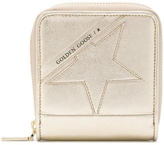 Golden Goose Star Detail Compact Wallet