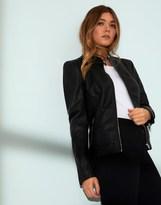 Vila Faux Leather Jacket