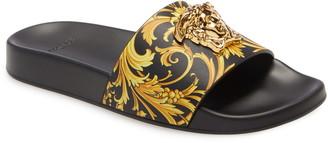 Versace Barocco Medusa Pool Slide Sandal