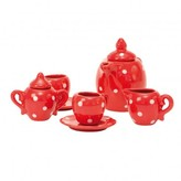 Moulin Roty Tea set in spotted case.