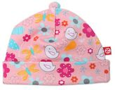Zutano Newborn Friendly Bird Print Hat