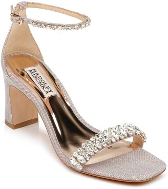 Badgley Mischka Harriet Block Heel Sandal