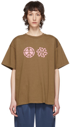 Rassvet Brown Logo T-Shirt