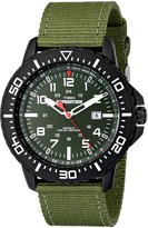 Timex Men's T49944 Expedition Uplander Black/ Nylon Strap Watch