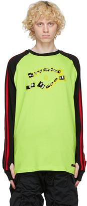 99% Is Black and Yellow Raglan Long Sleeve T-Shirt
