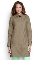 Classic Women's Tall Coastal Rain Coat-Khaki