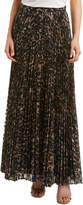Haute Hippie Sunburst Flare Maxi Skirt