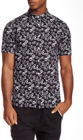 Religion Linty Printed Short Sleeve Slim Fit Shirt