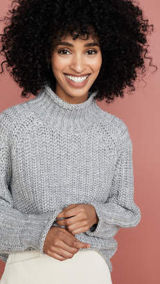 MinkPink Stevie High Neck Sweater