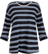 Splendid Blue and Black Bridgewater Stripe Top