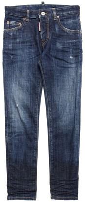 DSQUARED2 Slim Distressed Stretch Denim Jeans