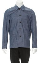 Paul Smith Red Ear Deconstructed Chambray Jacket
