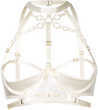Bordelle Bondage Shelf Bra
