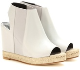 Balenciaga Rope Leather Wedges