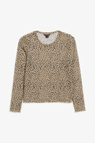 Thumbnail for your product : Monki Long-sleeved mesh top