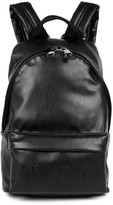 Mcq Alexander Mcqueen Black Faux Leather Backpack