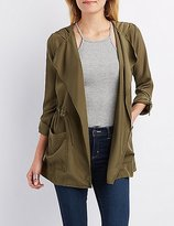 Charlotte Russe Lightweight Hooded Anorak