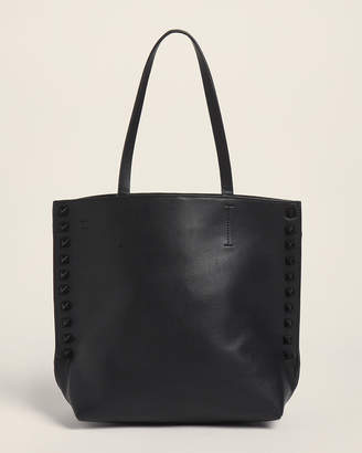 French Connection Black Karen Studded Satchel