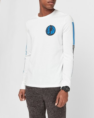 Express Dallas Mavericks Nba Long Sleeve Graphic T-Shirt