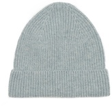 A.p.c. Ribbed-knit Camel Beanie Hat