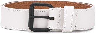 Diesel Leather belt with contrast buckle