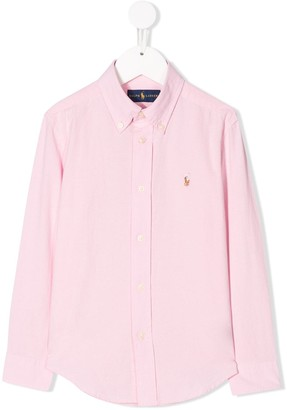 Ralph Lauren Kids Button-Down Logo Shirt