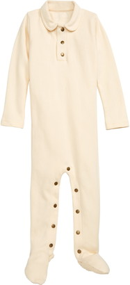 L'ovedbaby Organic Cotton Polo Footie
