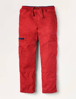 Cosy Lined Cargo Trousers