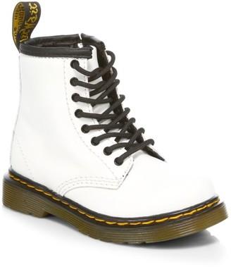 Dr. Martens Little Girl's & Girl's Combat Boots