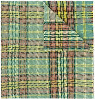 Acne Studios Tartan Wool Scarf
