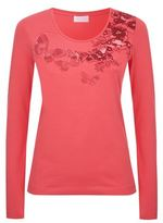 Escada Sport Floral Embroidered T-Shirt