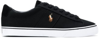 Polo Ralph Lauren embroidered Pony sneakers