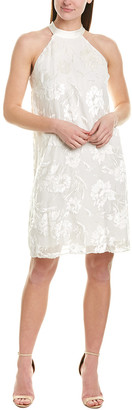 Elie Tahari Silk-Blend Shift Dress