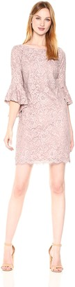 Chetta B Women's Lace Bell Sleeve Dress