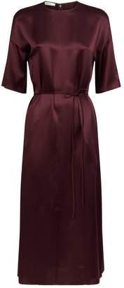 Vince Silk Seamed Front Dress