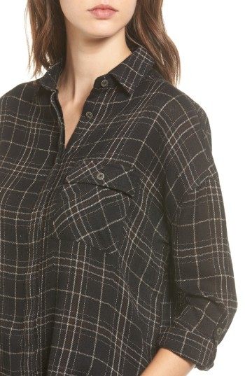 LIRA Women's Hayworth Plaid Tunic