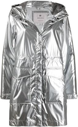 Woolrich Metallic Hooded Parka